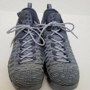 Nike Pre Owned KD 9 Shoes 11.5 battle grey black
